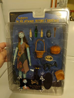 Collectable Nightmare Before Christmas Sally from NECA Series 1 (2004) Unopened Box for Sale in Snoqualmie, WA