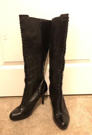 Cole Haan Black leather boots for Sale in Washington, DC