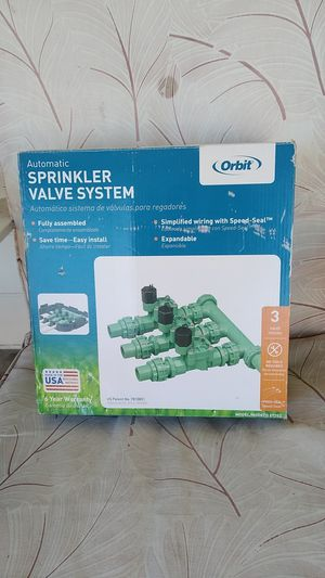 Sprinkler valve system for Sale in Ripon, CA