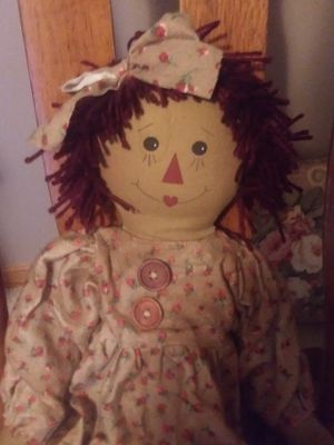 Vintage Raggedy Ann Doll for Sale in Fort Wayne, IN