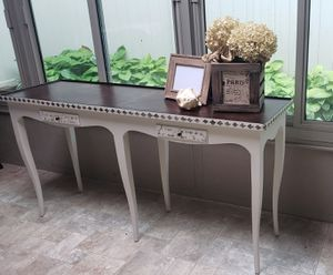 """Sofa, Entryway , Console Table...Newly refinished 54""""L ×27""""Hx15.5 """" D for Sale in Arlington Heights, IL"""