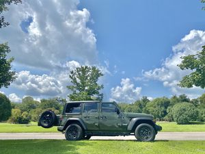 Tires and Wheels off Jeep Wrangler JL. Set of 5! Brand new! for Sale in Franklin, TN