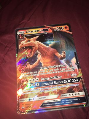 JUMBO DETECTIVE PIKACHU CHARIZARD POKEMON CARD! for Sale in Clermont, FL