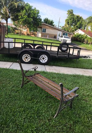 2004. ASPT 14 foot open trailer.🌲🌴🌳🌵 for Sale in Hollywood, FL