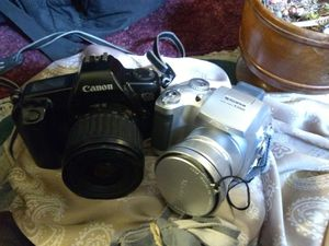 Digital camera and film camera one great price for Sale in Reno, NV