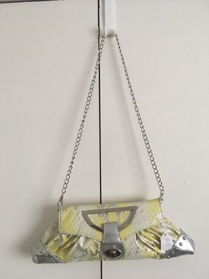 Yellow and silver chain crossbody for Sale in Beaumont, TX