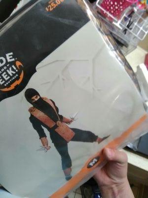 New boys medium ninja costume for Sale in Spring Valley, CA