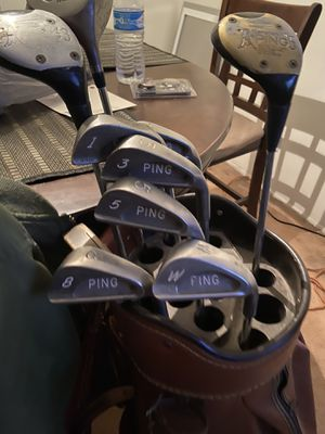 Ping clubs and bag for Sale in Phoenix, AZ