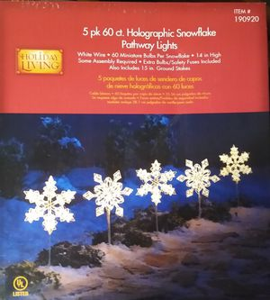 Snowflake Pathway Lights for Sale in Cheektowaga, NY