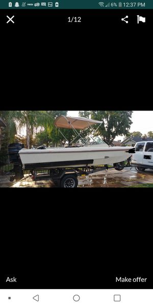Nice boat ready for a new owner😊 for Sale in Fresno, CA