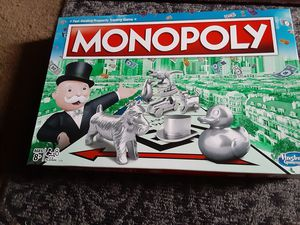 MONOPOLY board game/missing tokens, board split on crease for Sale in Chula Vista, CA