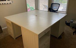 Desk four person workstation for Sale in Laguna Beach, CA