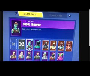 Ghoul Trooper Account. willing to negotiate price because no one likes the original price for Sale in Amarillo, TX