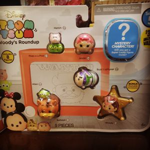 Woody round up tsum tsum set for Sale in Perris, CA