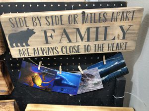 Family and Grandparent photo sign for Sale in Wasilla, AK
