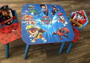 Paw Patrol Kids Table & Chairs for Sale in San Diego, CA