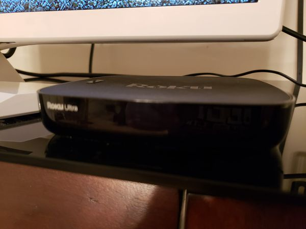 Roku ultra with remote and box