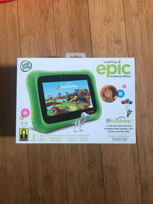 LeapFrog Epic Academy™ Edition Learning Tablets! for Sale in Milpitas, CA