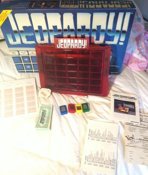 1986 Jeopardy board game for Sale in Norcross, GA