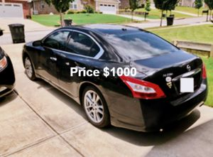 Nissan Maxima 4dr w/Leather, Full price $1000,Navigation for Sale in Richmond, VA