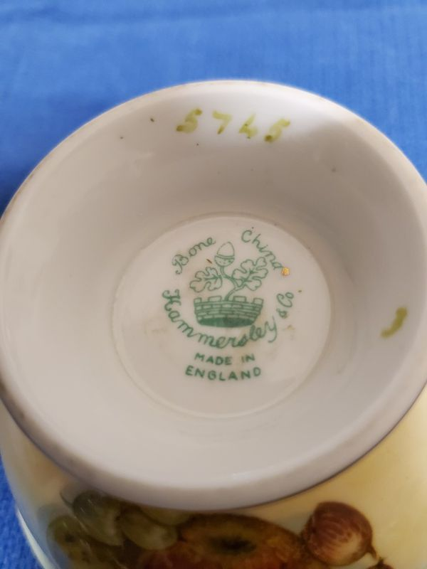 Vintage 1930*s signed Bone China Teacup an
