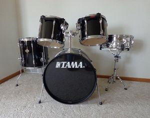 Please read tama 5 piece with 5 cymbals and all for Sale in Queens, NY