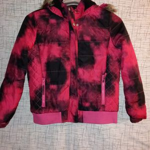14/16 Jacket Pink/black for Sale in Lemoore, CA