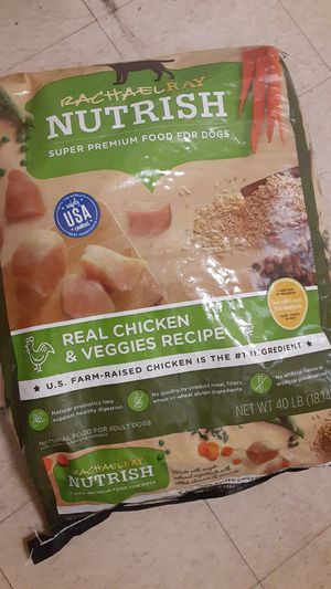Rachael ray nutrish super premium food for dog. for Sale in Lowell, MA