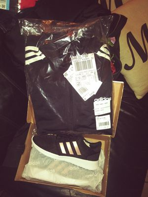 Adidas jacket and shoes for Sale in Fresno, CA