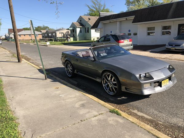 91 rs Camaro convertible