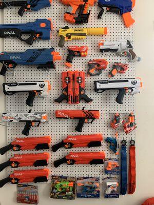 Nerf guns bundle sale for Sale in Jurupa Valley, CA