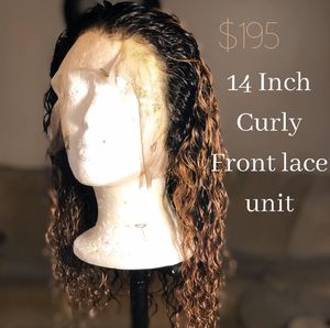 Curly front lace unit for Sale in Atlanta, GA