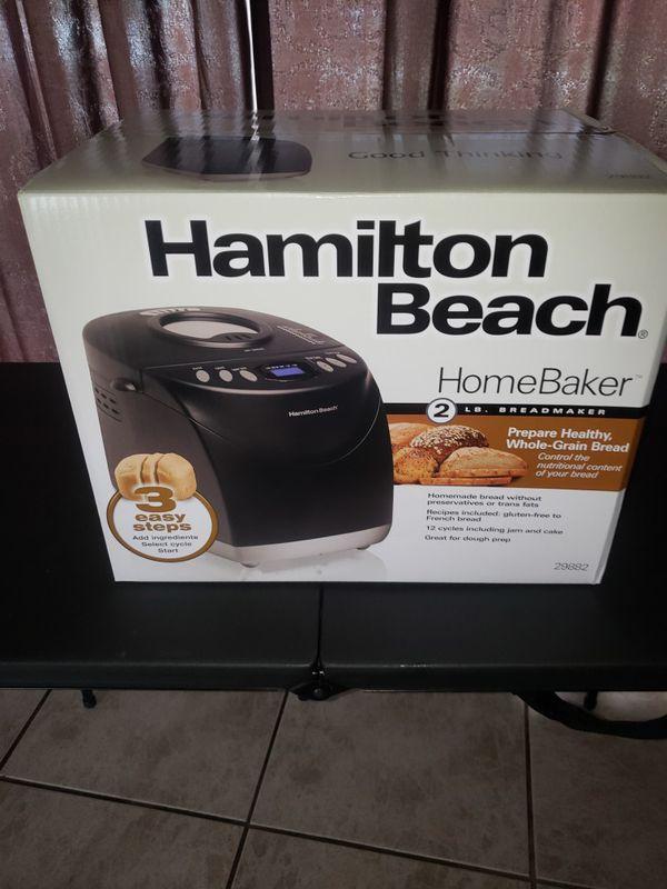 Hamilton Beach bread maker