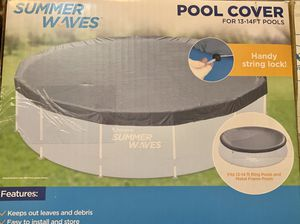 Summer Waves Pool Cover 13ft - 14ft for Sale in Covina, CA