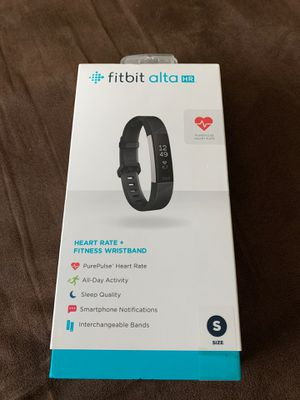 Fitbit Alta HR - small with black band for Sale in Cerritos, CA