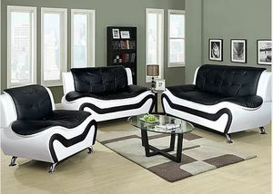 $39 down 100 days no interest 3pcs sofa loveseat chair set for Sale in College Park, MD