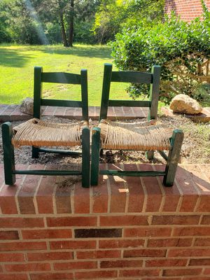 Wooden Straw Toddler Chair for Sale in Oxford, NC