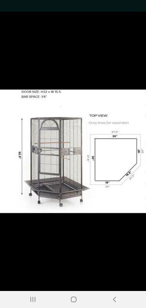 Brand new bird cage in the Box for Sale in Hemet, CA
