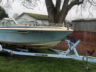 1978 Sun cruiser boat W/trailer for Sale in Canby,  OR