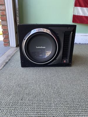 """Punch P3 12"""" Subwoofer for Sale in Santa Ana, CA"""