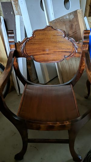 Antique wooden chair for Sale in Portland, ME