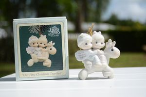 """Precious Moment """"Our First Christmas 1995"""" Ornament for Sale in Miami, FL"""