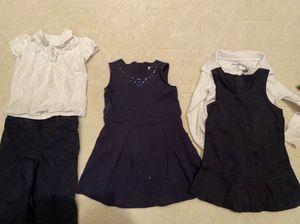 20+ pcs of navy and white school uniform, sz 3T-4T pre-Kindergarten for Sale in Washington, DC
