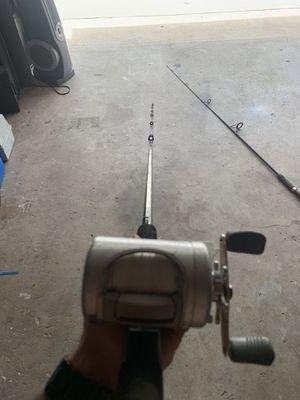 Abu Garcia Ambassadeur Fishing Reel/Rod Combo for Sale in Los Angeles, CA