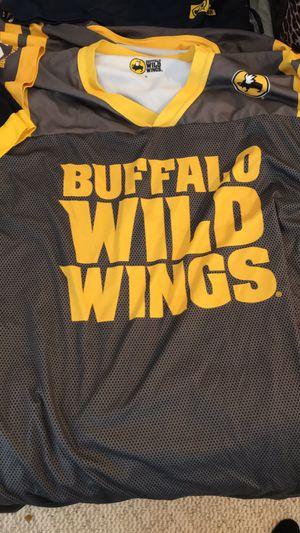 Buffalo Wild Wings Jerseys for Sale in Cedar Rapids, IA