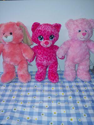 ( Bundle ) Pink Build a Bears. for Sale in Chandler, AZ