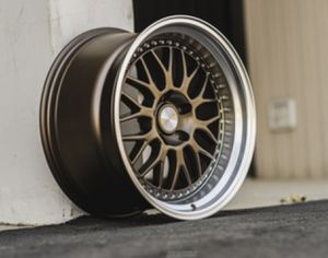 Esr 18 inch 5 lug rims and tires 4 set for Sale in South Portland, ME