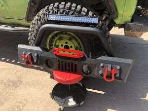 Jeep Wangler armored front bumper new for Sale in Scottsdale, AZ