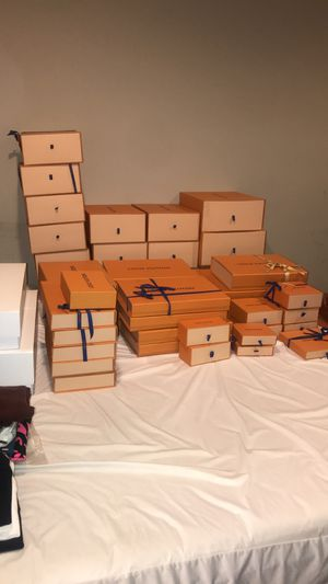Louis Vuitton Boxes, Bags, Dust Bags, Garment Bags, Ribbons for Sale in Bowie, MD