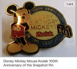 100th anniversary Disney Pin for Sale in Blackwood, NJ